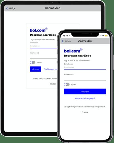 Login met je bol.com account